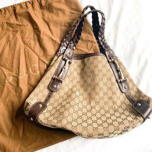 Gucci Auth Pelham Hobo Bag